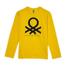 T-shirt manches longues - giallo
