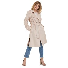 FORME TRENCH, IMPERMÉABLE : TRENCH - BEIGE Morgan