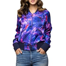 Brandalley Jacquard Multicolore Morgan Patchs Bomber 86Sq1