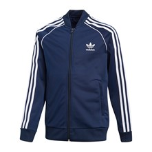 SWEAT POLAIRE - BLEU Adidas Originals