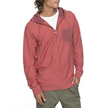 SWEAT À CAPUCHE - ROUGE Quiksilver