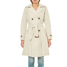 FORME TRENCH, IMPERMÉABLE : TRENCH - BEIGE Benetton