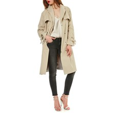 FORME TRENCH, IMPERMÉABLE : TRENCH - BEIGE Only