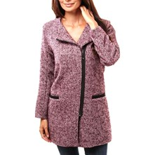 ALICE - MANTEAU - BORDEAUX Claudia Fabri