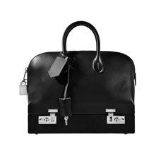 SAC À MAIN EN CUIR - NOIR Calvin Klein Collection