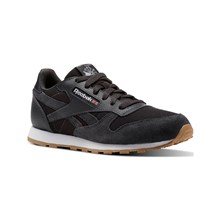 CL LEATHER ESTL - BASKETS RUNNING - NOIR Reebok Classics