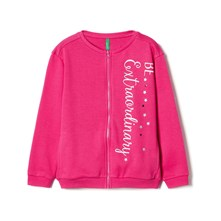 ZERODODICI - SWEAT-SHIRT - ROSE Benetton