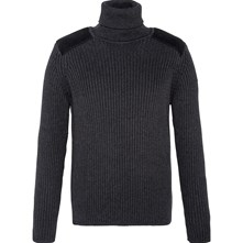 PULL COL ROULÉ - ANTHRACITE Schott