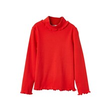 SOUS-PULL COL FROU-FROU - ROUGE Cyrillus