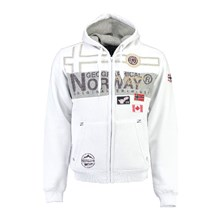 991c862ed66a Geographical À Blanc Capuche Brandalley 100 Gilba Norway Sweat rwSqcOFrI