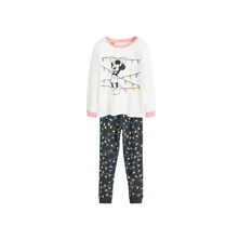 PYJAMA LONG - BLANC Mango Kids
