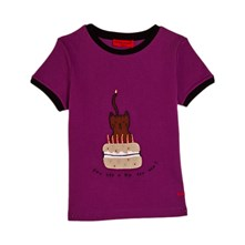 T-SHIRT MANCHES COURTES - VIOLET Sonia Rykiel