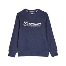 SWEAT-SHIRT - BLEU MARINE Jack & Jones