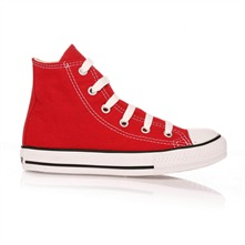Sneakers montantes - rouge