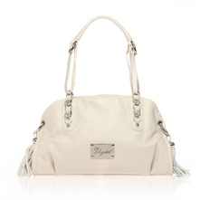 Virginia - Sac à main en cuir beige