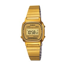 Casio Collection Retro - Style casual - jaune
