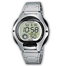 Casio Collection - Style sport - argenté