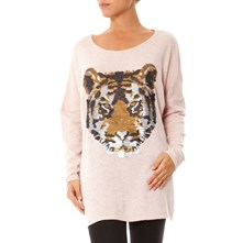 Pull-tunique - rose