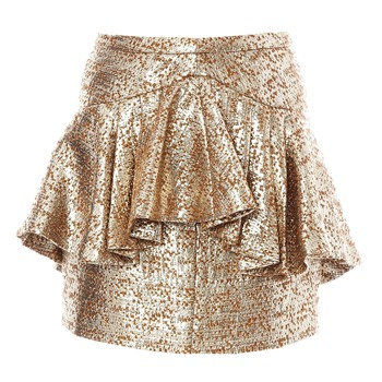 Dress Gallery - Or - Mini gonna - oro