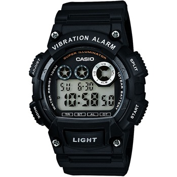 Casio Collection - Montre chrono - noir