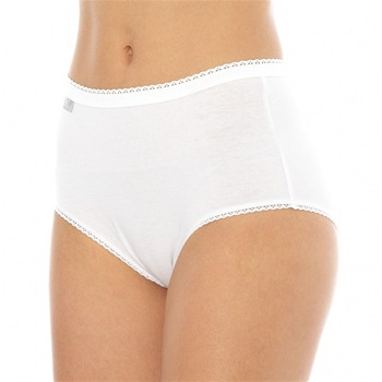 Nouveau Cotton Blanc - Slip - blanco