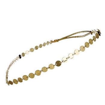 Les Dissonances - Attrayante - Headband pastille d'or - doré - 1112482