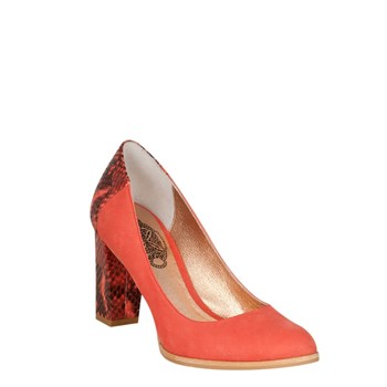 Lana Hype - Escarpins - en cuir orange