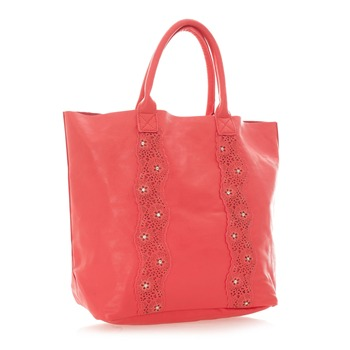 Shopping Bag - korallenfarben