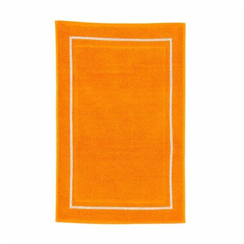 Diamant - Tapis de bain 550 gr/m² - orange