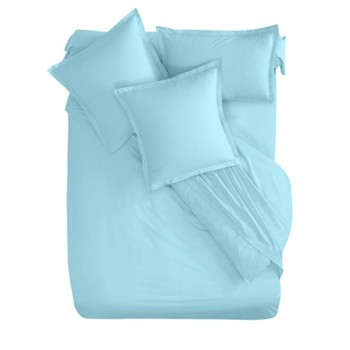 Ifilhome - Bio - Housse de couette - turquoise - 1170110