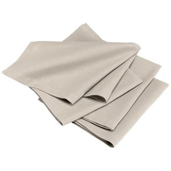 Metis - Lot de 4 serviettes - mastic