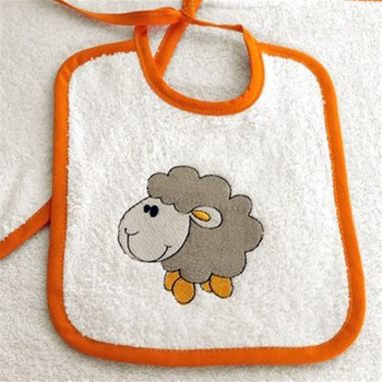 Les Bébés d Elysea - Ptit Mouton - Set - orange