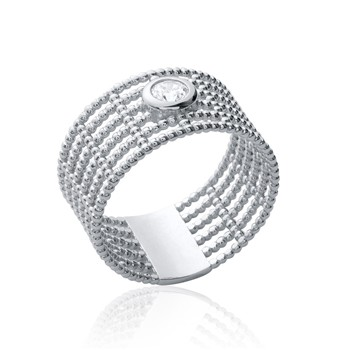 Delicacy - Ring - aus 925 Silber