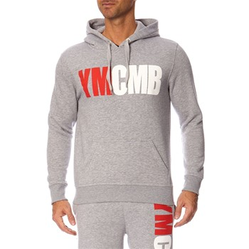 YMCMB - Sweat à capuche - gris chiné
