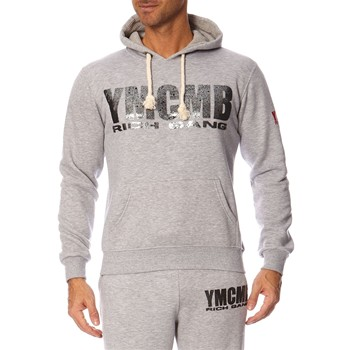 YMCMB - Sweat à capuche - gris chiné - 1257373