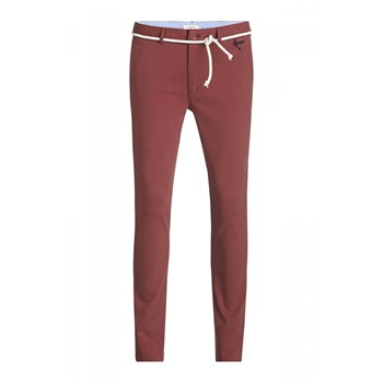 Eleven Paris - Charlie - Pantalon chino - brique