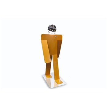 Thomas de Lussac - Moonwalk Giant - Lampadaire - orange