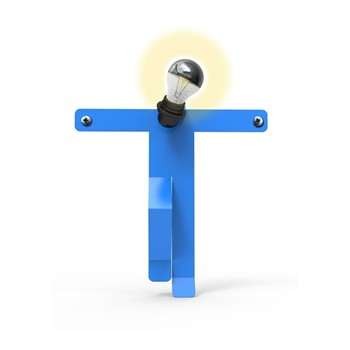 Design Moonwalk Kredo - Lampe - bleue