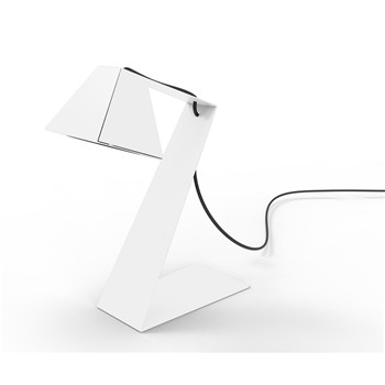 Thomas de Lussac - Big Zlight - Lampe de bureau design - blanche