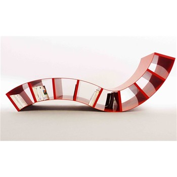BOABOOK - Chaise longue design - rouge