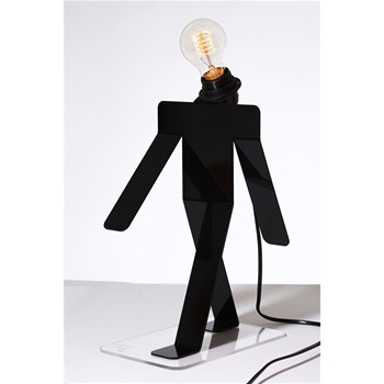 Moonwalk Tekniks - Lampe design - noire