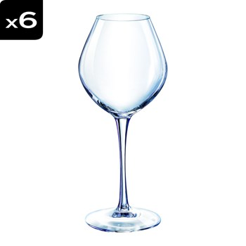 Wine Emotion - Lot de 6 verres à pied 35cl - 35 cl