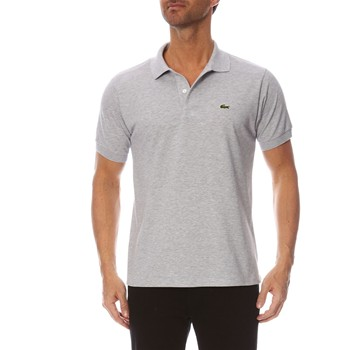 L1264 - Polo - gris chiné