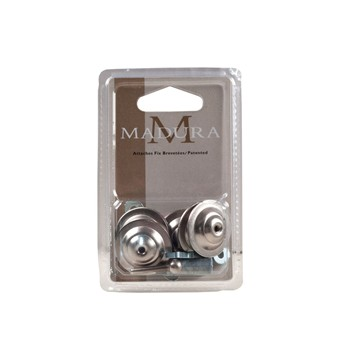 Madura - Alma - Attache-fix - gris acier - 1399249