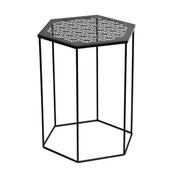 Madura - Honey - Table d'appoint - noir - 1060849