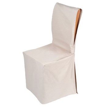 Madura - Pampa - Housse de chaise ajustable - beige - 1398966