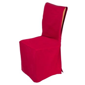 Pampa - Housse de chaise ajustable - bordeaux
