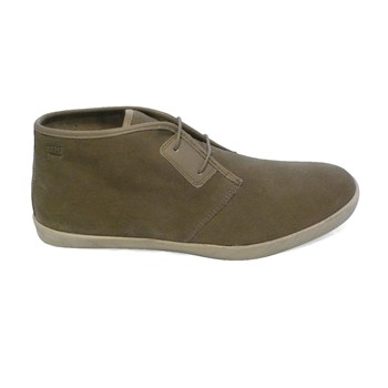 Stillwell - Boots - en cuir taupe