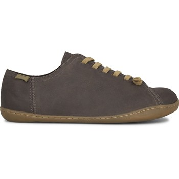 Peu - Baskets - en nubuck marron