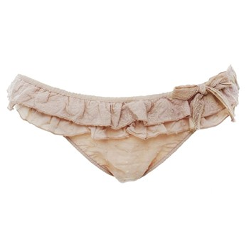 MY HEART BELONGS TO DADDY - Maillot de bain culotte froufrou - Nude